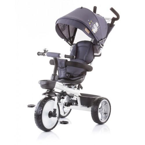 Tricikl za decu 5 u 1 Tempo Granite Grey