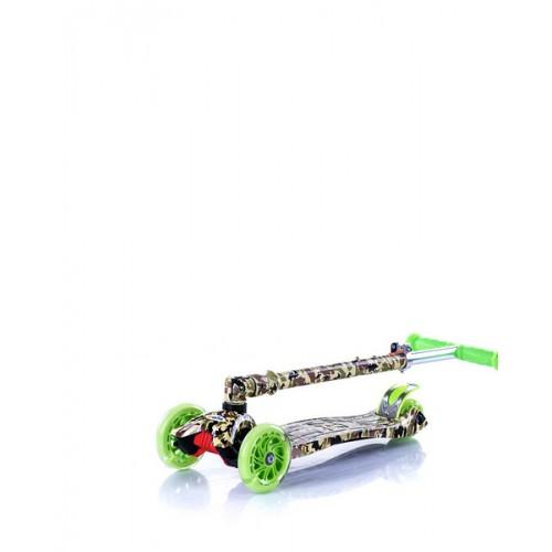 Trotinet Croxer Green sa svetlećim točkovima