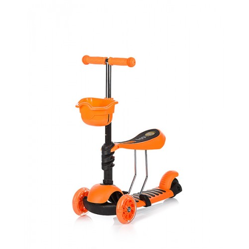 Trotinet Kiddy Orange sa svetlećim točkovima
