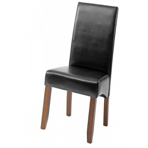 Trpezarijska stolica Den crna