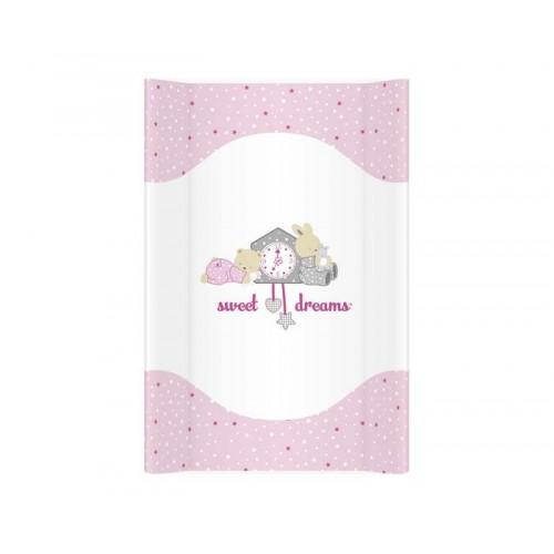 Tvrda Podloga za Presvlačenje Beba Sweet Dreams Pink 70cm