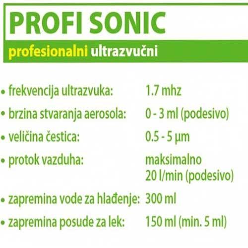 Profesionalni ultrazvučni inhalator PROFI Sonic