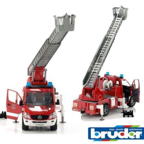 Vatrogasni kamion Mercedes Benz Sprinter Bruder 02532