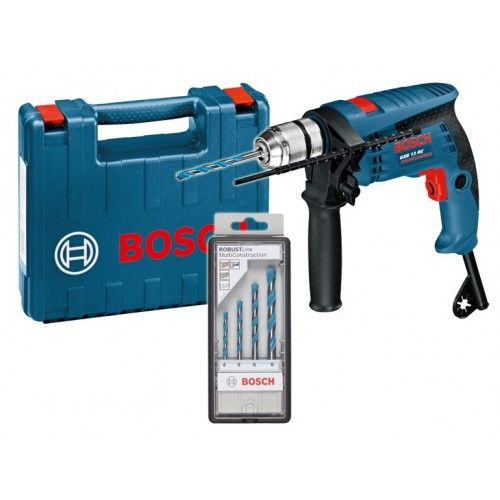 Vibraciona bušilica Bosch GSB 13 RE Professional + 4 kom Multi Construction set u standard koferu