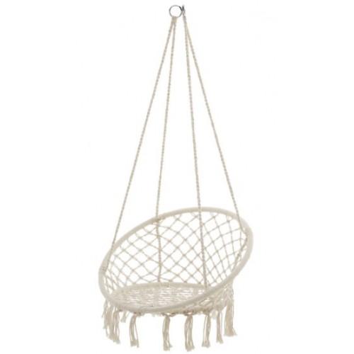 Viseća stolica Nidal 83x83 bela