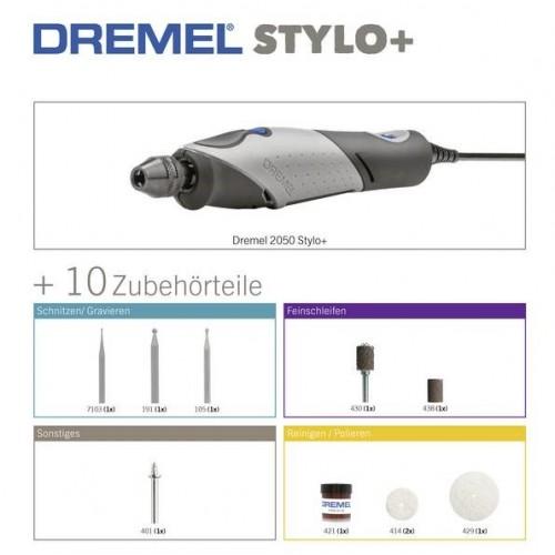 Višenamenski alat Dremel Stylo+ 2050-10 set Bosch