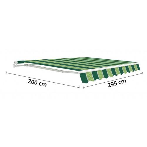 Vodootporna Tenda za Zid ili Plafon 295x200cm