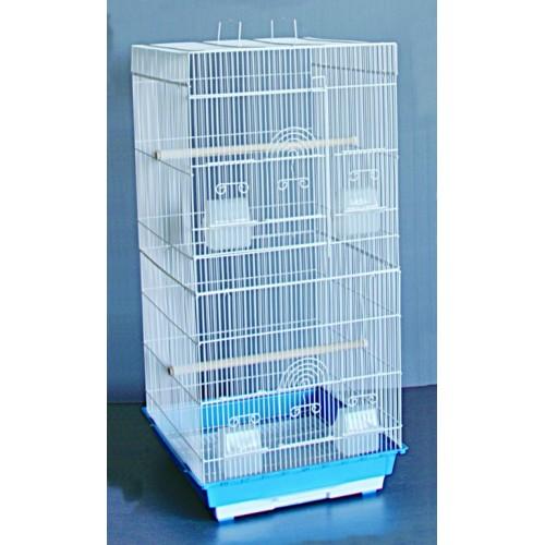 Kavez za ptice W823 bela i plava
