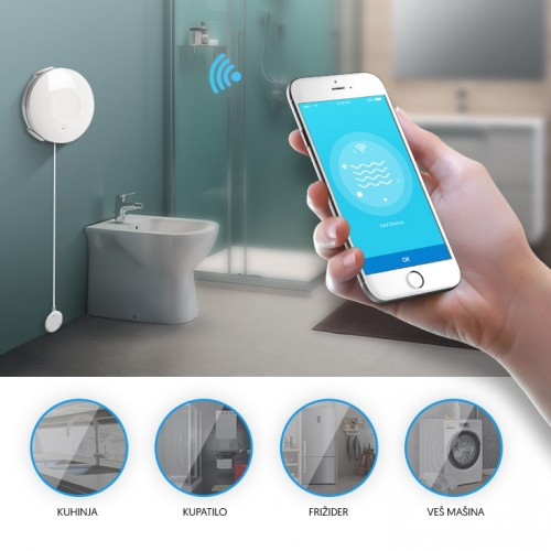 Wi-Fi smart senzor prisustva vode