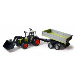 Bruder Traktor Claas sa prikolicom i utovarivačem 019983
