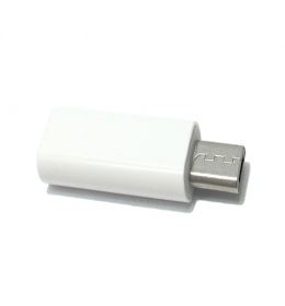 Adapter sa type C na micro USB beli