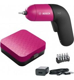 Akumulatorski odvrtač Bosch IXO 6 pink
