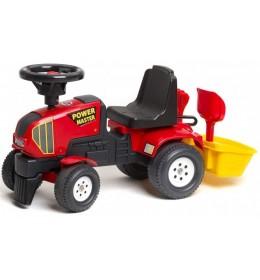 Traktor guralica za decu sa korpom 1013