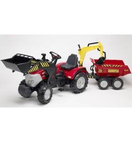 Traktor na pedale Falk Toys Mc Cormick konstruktor 1030w