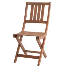 Sklopiva stolica tvrdo drvo