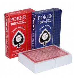 Plastične karte Piatnik 100% Plastic Poker