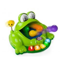 Žaba sa animacijom Pop & Giggle Pond Pal BS Kids II