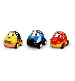 Igračke Oball Go Grippers Emergency Vehicles 3 kom Kids II