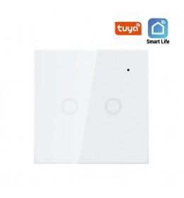 Smart prekidač svetla 2x5A Wi-Fi WFPS-W2/WH