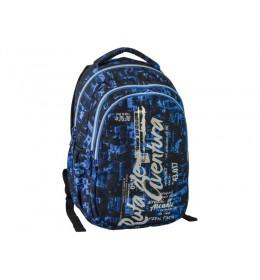 Školski ranac Zetta - Aventura blue 160130