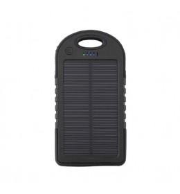 PowerBank baterija/punjač 6000 mAh solarni Black