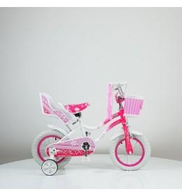 """Bicikl 12"""" sa pomoćnim točkovima 716 Roze"""