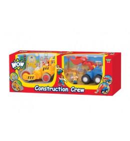 Građevinske mašine 2u1 set WOW igračka