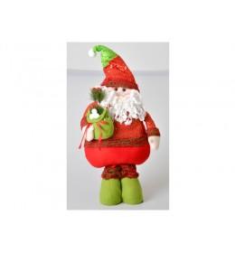 Novogodišnja dekoracija deda Mraz 1m