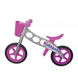 Bicikl za decu bez pedala Bonin n'ride cubix pink i siva
