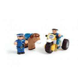 Policijska patrola sa konjićem i motorom WOW igračka