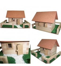 Drvena kućica za sklapanje K1