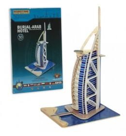 3D drvene puzzle - Hotel Dubai