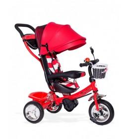 Dečiji tricikl sa tendom model 406 crveni