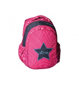 Ranac za školu Zetta pink star 160143