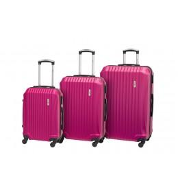 Set kofera 3/1 Enova Sevilla pink 514.240.30