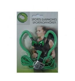 Slušalice za mobilni tel. sportske 515 zelene