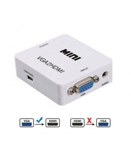 VGA na HDMI konvertor VGH-101 beli