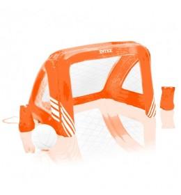 Gol za bazen ili dvorište + lopta narandžasta