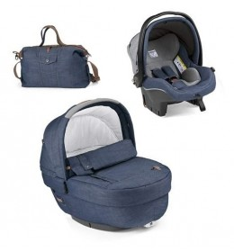 Set nosiljka, autosedište i torba Modular Elite Urban Denim