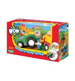 Igračka traktor sa prikolicom WOW Bumpety Bump Bernie