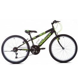 Mountain Bike Junior Adria Spam 24'' Crno Zelena