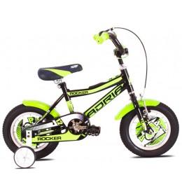 Dečiji Bicikl Rocker 12'' Crna i Zelena