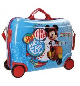 ABS dečiji kofer sa 4 točkića Mickey Vespa 40.299.61