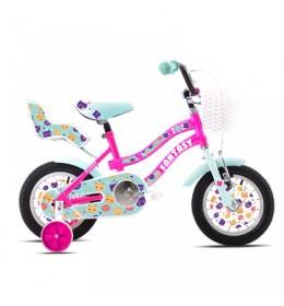 "Dečiji bicikl Adria 2020 fantasy 12"" pink-tirkiz"