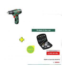 Akumulatorska bušilica-odvrtač Bosch EasyDrill 12-2 + poklon
