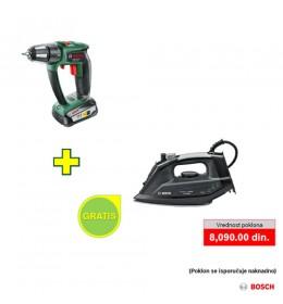 Akumulatorska bušilica Bosch PSR 18 LI-2 Ergonomic + poklon