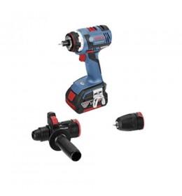 Akumulatorska bušilica-odvrtač Bosch GSR 18 V-EC FC2 Professional 2 x 5,0 Ah LBoxx
