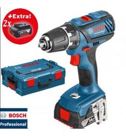 Aku bušilica-odvrtač Bosch GSR 14,4-2-LI Plus+2baterije + L-BOXX