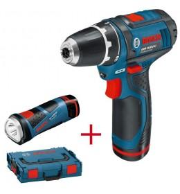 Aku bušilica Bosch Professional GSR 12V-15 Aku lampa GLI PocketLED