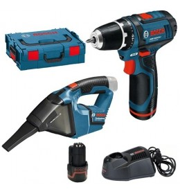 Aku bušilica Bosch Professional GSR 12V-15+Aku usisivač Bosch GAS 12V